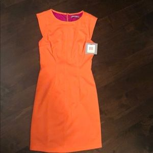 Andrew Marc   Marc New York size 4 orange dress